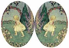 Child's Garden of Verses Illustrated by Henriette Willebeek Le Mair