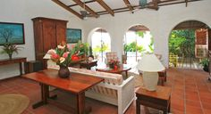 The Plantation Villa Living Area
