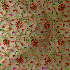 Embroidery Saree, Couture Embroidery, Quilting Designs, Machine Embroidery Designs, Embroidery Patterns, Embroidery Stitches, Hand Embroidery, Bridal Blouse Designs, Hobbies And Crafts