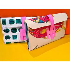 Ali Hoffman made Hermes clutches out of paper.  Here's how she did it...