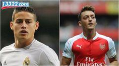 Real Madrid đã lên kế hoạch tiếp cận Oezil phòng khi Rodriguez rời khỏi câu lạc bộ.