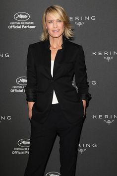 Robin Wright, Day 2 in Cannes 2017.