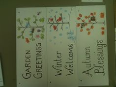 2nd Grade Signs to go with Porch Post sign holder for School Art Auction.