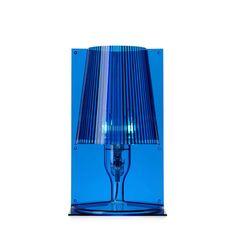 #nice  -->  Kartell -  Heim & Garten / Beleuchtung / Leuchten -  Take Tischleuchten Kartell Farbe: blau --> €  65.55 // check out more --> designwebstore.de