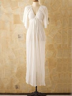 Vintage Josefina Gauze Gown at Free People Clothing Boutique - StyleSays