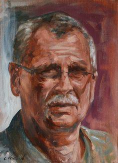 Piotr Pilawa portrait Pinxit Cyprian Nocon Nocoń