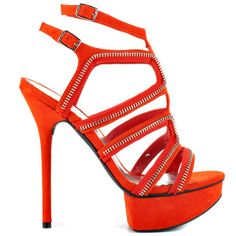 Latasha - Red Suede by Bebe Shoes