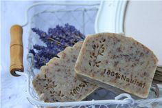 Lavender-natural handmade soap Bath Products, Handmade Soaps, Bath Salts, Lavender, Artisan, Natural, Food, Soap, Bath Scrub