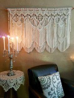 Extra Large Macrame Wall Hanging Tapestry Wedding Backdrop