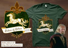 LOTR Riders of Rohan parody T-shirt!