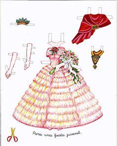 Princess Paper Doll - Snow White