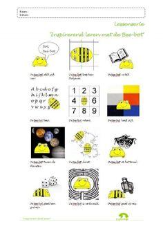 Naam: Datum: Bee< Naam: Datum: Aanpak lessen Elke les uit de lessenreeks 'Inspirerend Computational Thinking, Lego, Teaching First Grade, 21st Century Skills, T 4, Preschool, Coding, Classroom, Projects