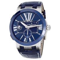 Ulysse Nardin Executive Dual Time Automatic Blue Dial Mens Watch 243-00-43  $6199.99