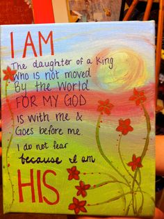 I Am His by happy4everafter on Etsy