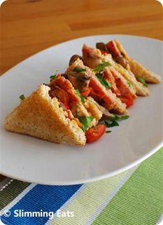 Breakfast Sandwich | Slimming Eats - Slimming World Recipes