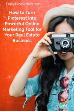 How to Turn Pinterest into Powerful Online Marketing Tool for Your Real Estate Business Internet Marketing Consultant, Online Marketing Tools, Social Media Marketing, Real Estate Business, Real Estate Marketing, Social Media Strategist, Photography Classes, Pinterest Marketing, How To Become