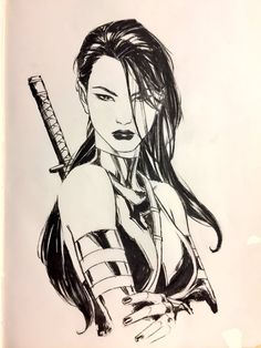 Psylocke by Andy Park Comic Book Characters, Comic Character, Comic Books Art, Comic Movies, Psylocke, Marvel Comic Universe, Marvel Art, Xmen, Andy Park