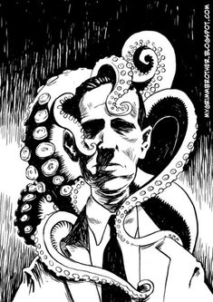 Lovecraft and friends by mygrimmbrother