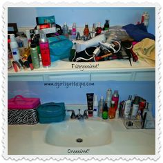 Get your beauty products organized with help from @Caboodles and @A Girl's Gotta Spa blog.  #beauty #cosmetics #organization