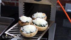 Gefüllte Champignons aus dem Pellet Smoker und Beefer_gef llte Champignons Beefer One_gefüllte champignons