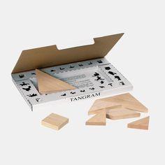 Tangram-Spiel aus Holz von Goki   Echtkind