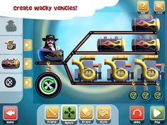 Top iPhone Game Loco Motors - Minority Media Inc. by Minority Media Inc. Fun Games For Kids, Memory Games, Best Apps, Ipad, Arcade Games, Android Apps, Iphone, Motors, Physics