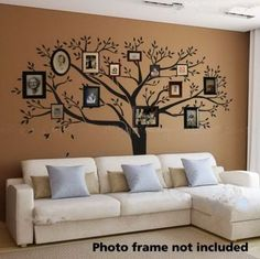 Funky Decor with Family Tree Wall Decals