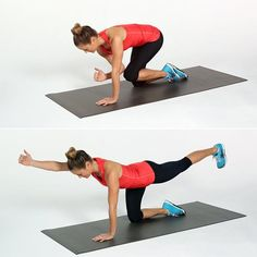 Do-Anywhere, Total-Body Strength Workout | Circuit One: Bird Dog