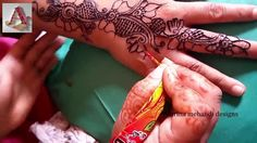 simple mehndi designs for back hands