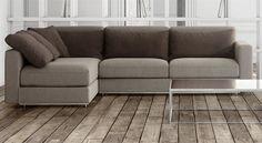 TRAFFIC #design #grassoler #sofa #2016   DISCOVER IT > www.grassoler.com #couch #furniture #madewithlove #deco #interiordesign #inspiration #spaces #home #decor #decorideas #trend #interiordesign #design #rooms #pude #cushions #pillows #homesweethome #livingroom #minimalist #room #cozy #tendencia #decoración #inspiración #tucasa #casa #brownsofa