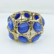Fashion Bohemia Blue Metal Bracelet
