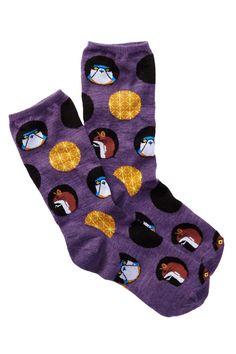 Charley Harper Dot Animals Crew Socks