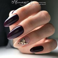 Best Spring Nail Designs and Ideas that nails the Spring nail colors and designs. Check out these awesome nail designs for Spring and update your stock Edgy Nails, Plum Nails, Trendy Nails, Cute Nails, Rhinestone Nails, Bling Nails, Swag Nails, Spring Nail Art, Nail Designs Spring
