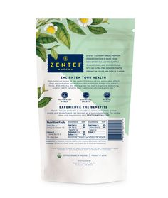 Zentei Matcha Branding Packaging Design