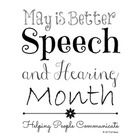 Subway art to celebrate Better Speech and Hearing Month! Comes in 3 versions - black and white, primary colors, and bright colors. Designed to be p...