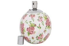 Oil Lamp, Rose Print in April 20 - 2013 from One Kings Lane on shop.CatalogSpree.com, my personal digital mall.