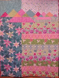 Turk Mountain quilt pattern by Creative Sewlutions