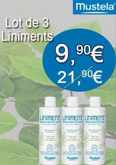 [#Promo #Mustela] Prenez soin de #bébé avec le Liniment Dermo-Protecteur! Le lot de 3 pour seulement 9,90€ 😍=>goo.gl/2QLr4y