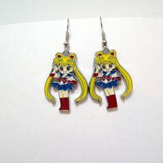Sailor Moon earrings anime geek geeky by Eternalelfcreations, $8.00