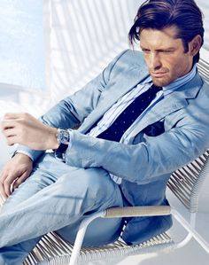 Blue Suits for Men - New Blue Suits 2012 - Esquire