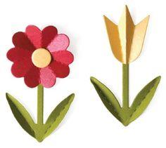 quickutz 4x4 3D Flowers