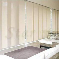 cortinas a medida, paneles orientales, romanas, roller, riel Ideas Paneles, Window Treatments, Alcove, Divider, New Homes, China Style, Bathtub, Windows, Curtains