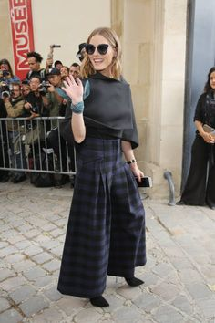 Actress/model Olivia Palermo attends the Christian Dior show as part of the Paris Fashion Week Womenswear Spring/Summer 2018 on September 26 2017 in...