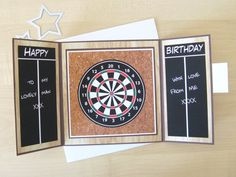 I forgot to post this back in September but I really enjoyed making thisfun and easy gatefold card. Cards for younger men can be difficul...
