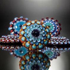 Dora Schubert Glass Cabochon Toppers - interchangeable jewellery system