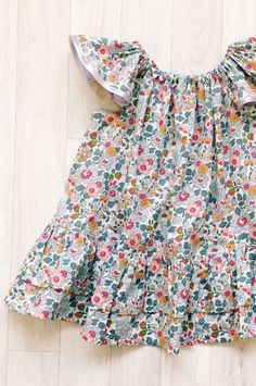 Handmade Liberty Print Dress | HandmadeClothingLTD on Etsy