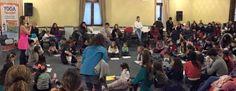 """""""Yoga para niños"""", dE Mariela Maleh y Daniela Méndez, Ediciones Urano, en la Feria del Libro Infantil y Juvenil de Buenos Aires. Patricia Iacovone   Agente."""
