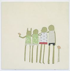 An oldy but goody. Family painting by Shelly Klein of k studio.