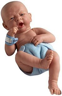 "New La Newborn Boutique - Realistic 14"" Anatomically Correct Real Baby Boy Doll #JCToys"