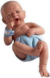 "New La Newborn Boutique - Realistic 14"" Anatomically Correct Real Baby Boy Doll #JCToys"